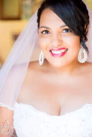 Beaming Bride